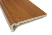 225mm Ogee Capping Fascia (golden oak)