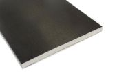 175mm Flat Soffit (black ash)