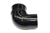 Black 68mm Round 92.5 Deg Bend (floplast)