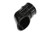 Black 68mm Round Pipe Shoe (floplast)