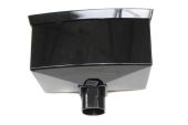 Black 68mm/65mm Standard Hopper (floplast)