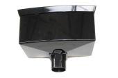 Black 68mm/65mm Standard Hopper (floplast)
