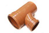 160mm x 87.5 Deg Double Socket Unequal Junction