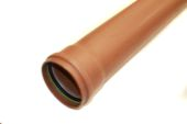 3 Metre Drainage Pipe (single socket)