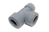 22mm x 15mm x 22mm End Reduced Tee