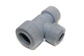 22mm x 15mm x 15mm Tee/One End reducer