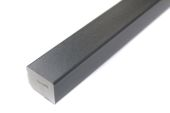 25mm x 20mm Rectangle (Anthracite Grey 7016 Smooth)