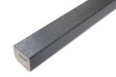 25mm x 20mm Rectangle (Anthracite Grey 7016 Woodgrain)