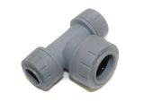 15mm x 15mm x 22mm End Reduced Tee