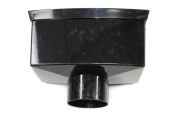 110mm Large Hopper Head (black floplast)