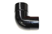 80mm x 92.5 Deg Bend (black)