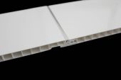 2.7 Mt Moderna White Gloss (Flush Thin Silver Strip)