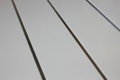5 Mt Plain Gloss White (T & G Joint/Recessed Silver Strip)