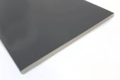 400mm Flat Soffit (Anthracite Grey 7016 Woodgrain)