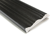 70mm Decorative Architrave (black woodgrain)