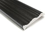 70mm Decorative Architrave (black woodgrain)