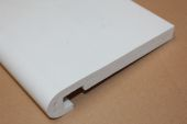 225mm x 16mm Bullnose Fascia (white)