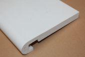 250mm x 16mm Bullnose Fascia (white)