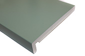 2 x 250mm Maxi Fascias (Chartwell Green Woodgrain)