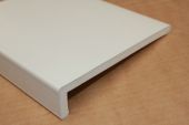 1 x 400mm Capping Fascia (cream woodgrain)