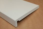 2 x 225mm Maxi Fascias (Cream Woodgrain)