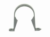 Graphite Grey 68mm Round Pipe Clip