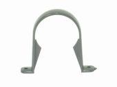Graphite Grey 68mm Round Pipe Clip