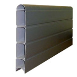 6 ft Eco Fencing Board (Graphite)