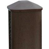 8 ft Eco Fencing Post (Walnut)