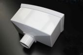 White 68mm/65mm Standard Hopper (floplast)
