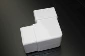 White Square 92.5 deg Bend (floplast)