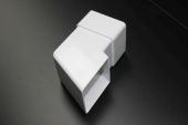 White Square Pipe Shoe (floplast)