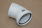 110mm x 135 Deg Double Socket Bend (white floplast)
