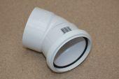 110mm x 135 Deg Double Socket Bend (white floplast)