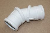 110mm Adjustable Bend 0-90 Deg (white floplast)