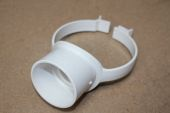 110mm Strap Boss (white floplast)