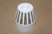 110mm Vent Terminal (white floplast)
