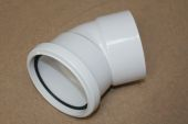 110mm x 135 Deg Top Offset Bend (white floplast)