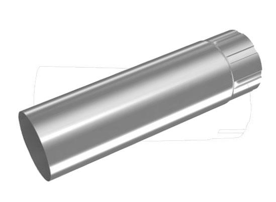Galv 87mm Round Pipe (1 metre length)