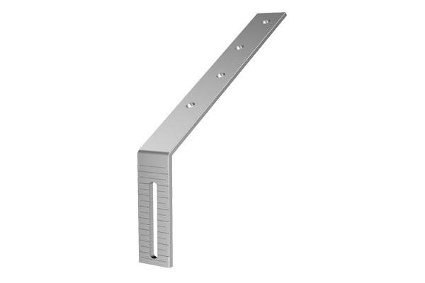 Galv 125mm Half Round Gutter Support Bracket