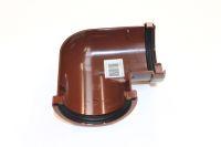 Miniline Gutter Angle 90 Deg (brown)