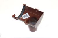 Miniline Stop End Outlet (brown)