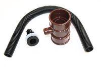 Miniline Rainwater Diverter (brown)