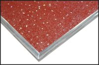 Aqua Wall Panel (red sparkle)
