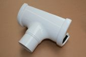 White Hi-Cap Deepflow 80mm Outlet (floplast)