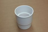 80mm Pipe Connector (white)
