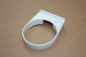 80mm Pipe Clip (white)