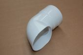 80mm Pipe Shoe (white)