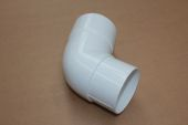 80mm x 112 Deg Pipe Offset (white)