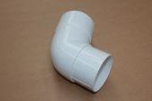 80mm x 112 Deg Pipe Offset (white)